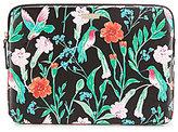 Kate Spade Jardin Floral & Hummingbird Laptop Case
