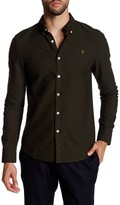 Farah Brewer Long Sleeve Slim Fit Shirt