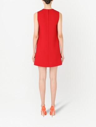 Dolce & Gabbana Colourblock Shift Minidress