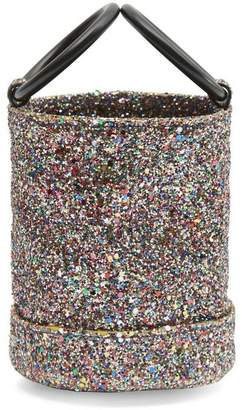 Simon Miller Bonsai 15 Small Glitter Link Strap Bucket Bag