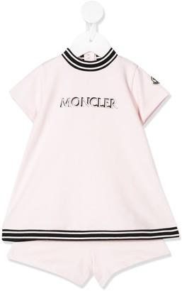 Moncler Enfant Logo-Print Tracksuit Set