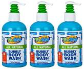 TruKid 3 Pc Value Pack Bubbly Body Wash