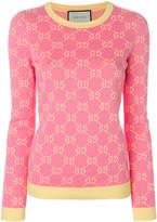 Gucci GG jacquard jumper