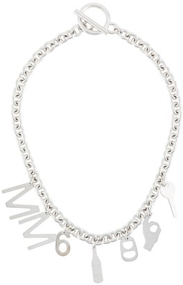 MM6 MAISON MARGIELA charm short necklace