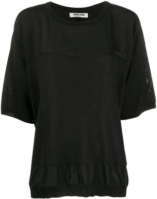 Max & Moi Contrast Panel Top