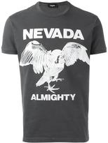 DSQUARED2 Nevada Almighty eagle T-shirt - men - Cotton - XXXL