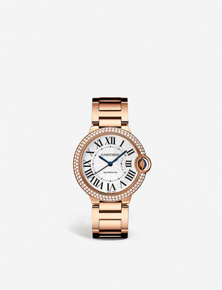 Cartier CRWJBB0005 Ballon Bleu de 18ct rose-gold and diamond watch
