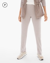 Chico's Cotton Cashmere Ribbed Pants