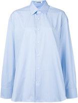 Jil Sander striped shirt - women - Spandex/Elastane/Wool - 32