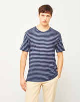 ONLY & SONS Poulper Fitted Fishtail T-Shirt Blue