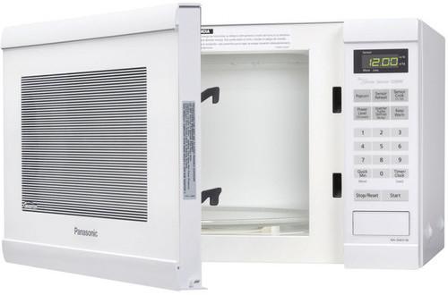 Panasonic 1.2 Cu. Ft. 1200W Countertop Microwave in White