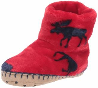 Hatley Boys' Fleece Hi-Top Slippers