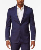 Sean John Men's Classic-Fit Blue Solid Suit Jacket