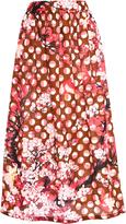 Laura Urbinati Printed Cotton Skirt