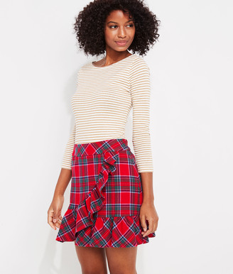 Vineyard Vines Nantucket Tartan Ruffle Skirt