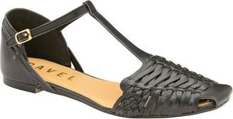 Ravel Calhoun Flat T-Bar Leather Sandals