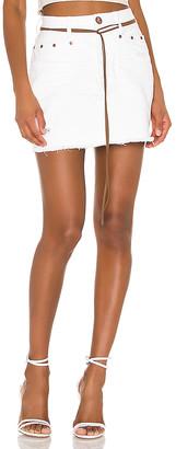 One Teaspoon Trucker Mid Waist Skirt. - size 22 (also