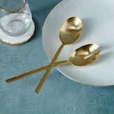 Gold Salad Serving Spoons
