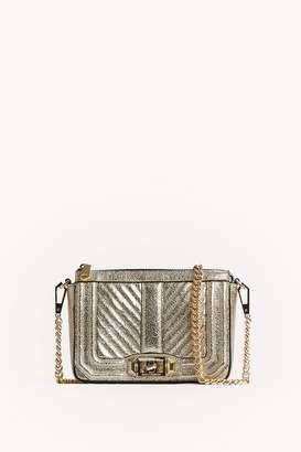 Rebecca Minkoff Chevron Quilted Mini Love Shoulder Bag