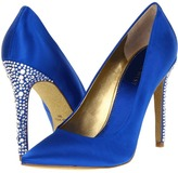 Nine West Glittering (Blue Satin) - Footwear