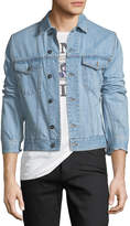 Valentino Light-Wash Denim Jacket