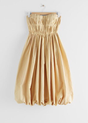 And other stories Bustier Balloon Mini Dress