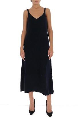 Jil Sander V-Neck Knitted Dress
