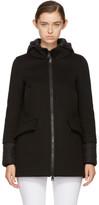 Herno Black Down Scuba Coat