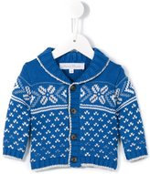 Tartine et Chocolat shawl collar cardigan - kids - Cotton/Polyamide/Viscose/Wool - 6 mth