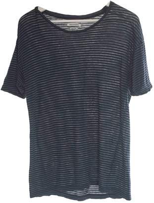 Etoile Isabel Marant Green Linen Top for Women