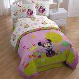 Disney Minnie Bowtique Garden Party 132 Thread Count Sheet Set