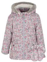 George Floral Shower Resistant Coat