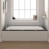"Fine Fixtures Drop In or Alcove Bathtub 36"" x 72"" Soaking Bathtub"