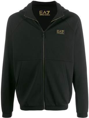 Emporio Armani Ea7 waffle knit hoodie