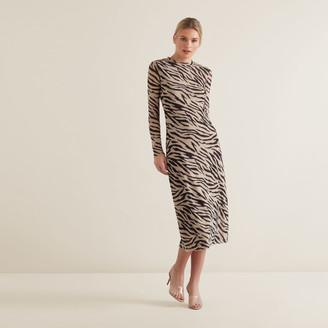 Seed Heritage Sketchy Zebra Dress