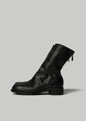 Guidi Women's Micha Over Ankle Boot in Black Size 35 Horse Leather