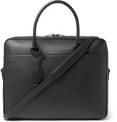 Saint Laurent Full-Grain Leather Briefcase