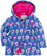 Hatley Nordic Flowers Waterproof Hooded Raincoat (Toddler Girls, Little Girls, & Big Girls)