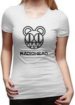Firewei Women's Radiohead Bear Logo T Shirts .Ready To Ship!