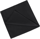 Oxford Pocket Square Cotton Blk