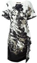 Roberto Cavalli floral print kimono dress