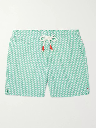 Orlebar Brown Standard Mid-Length Printed Swim Shorts