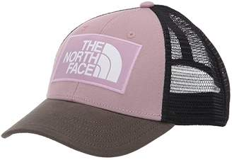 The North Face Kids Youth Mudder Trucker Hat (Ashen Purple/New Taupe Green) Caps
