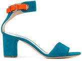Casadei block heel sandals