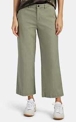 ATM Anthony Thomas Melillo Women's Boyfriend Crop Trousers - Green