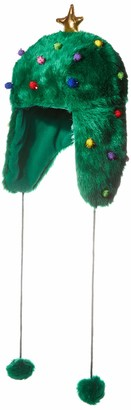 Collection XIIX Women's Christmas Tree Trapper Hat