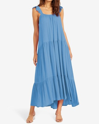 Express Bb Dakota Tiered Maxi Dress