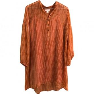 Hoss Intropia Orange Silk Dress for Women