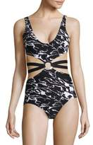 Proenza Schouler One-Piece Printed Maillot