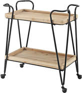 Linon Mid-Century Rectangular Bar Cart